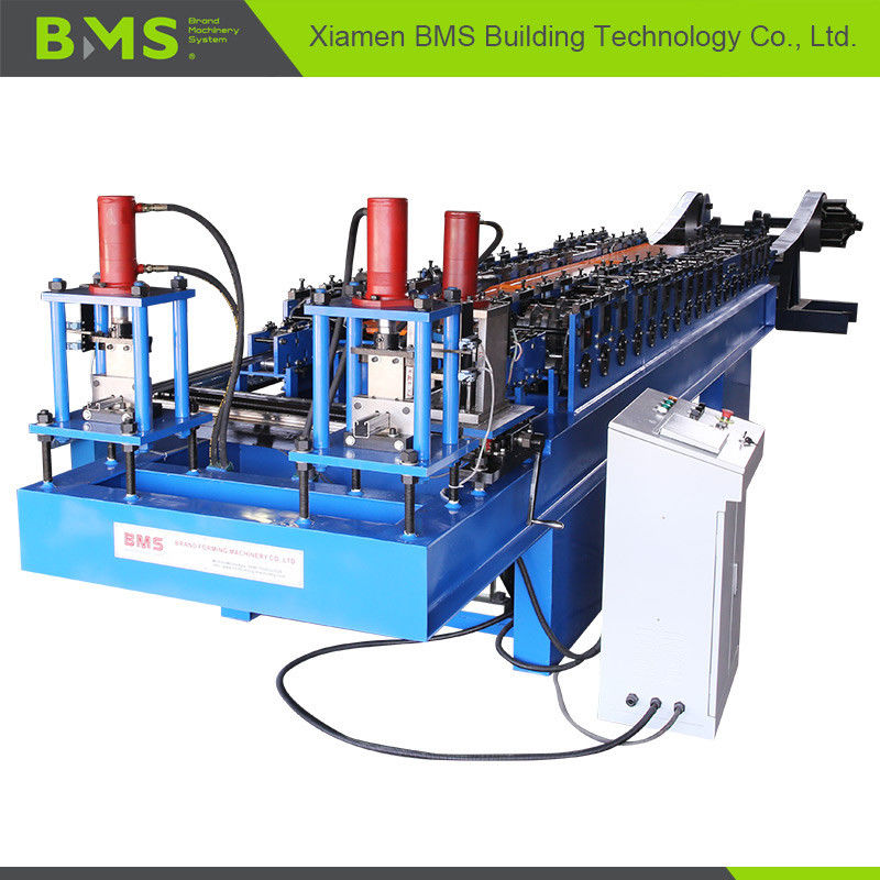 Stable Dual Door Rail Roll Forming Machine Convenient Operate Highly Efficient