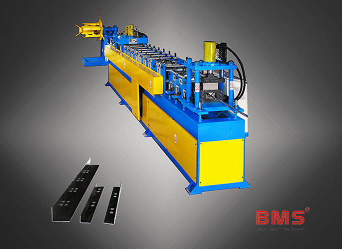 Custom Metal Stud And Track Roll Forming Machine , L Trim Cold Roll Forming Machine