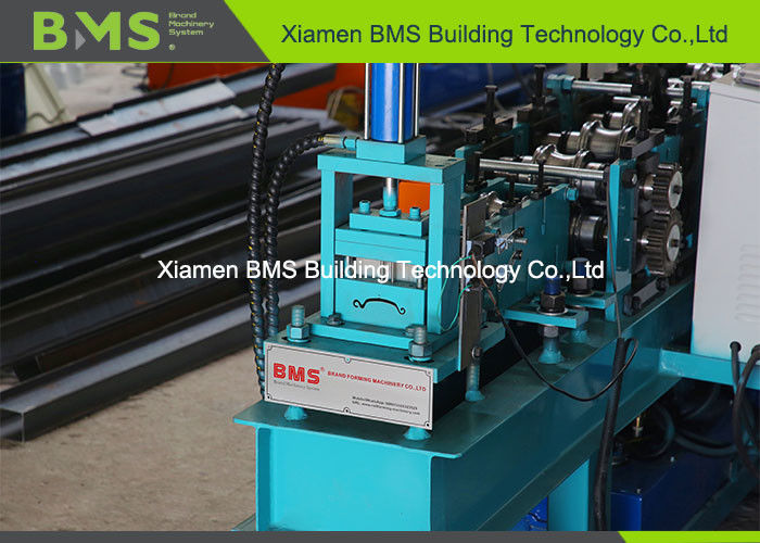 Rolling Shutter Strip Automatic Roll Forming Machine Forming Speed 0-18m / Min Shaft 40Cr