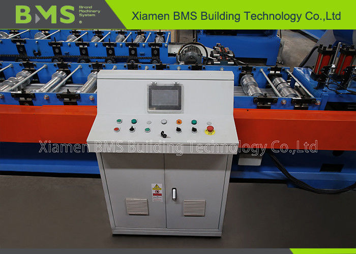 ISO9001 Roll Forming Gutter Machine With PLC Control System