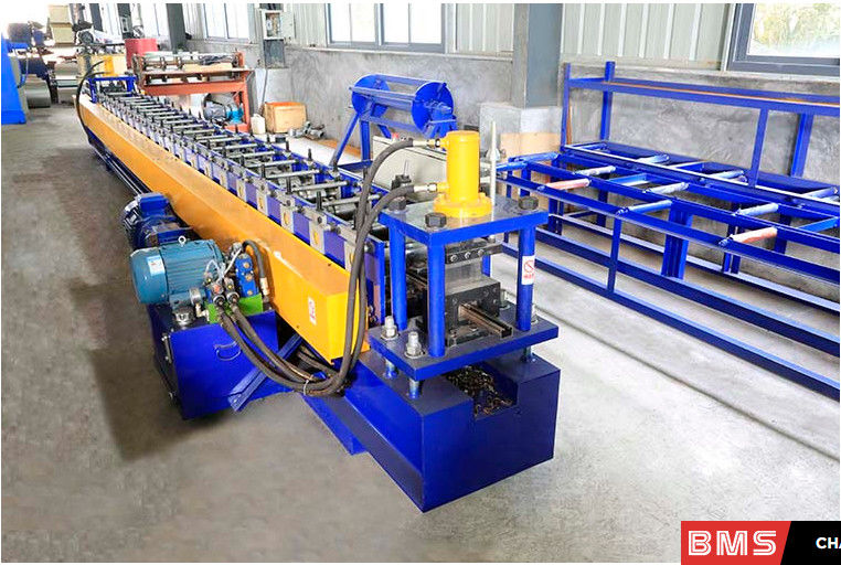 H400 Body Frame Thickness 1.2mm 2.0mm C Purlin Forming Machine